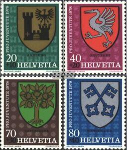 Schweiz-1142-1145-kompl-Ausg-gestempelt-1978-Pro-Juventute