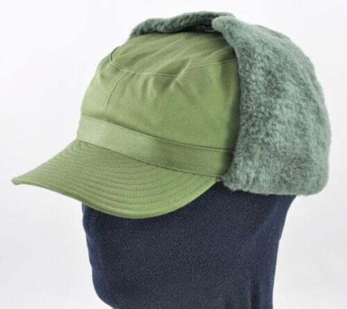 Original Swedish Sweden military Army winter Green M59 field cap hat ALL SIZES !