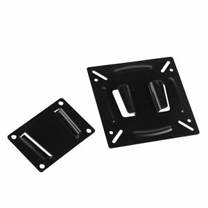 Metal-Wall-Mount-Bracket-Flat-Fixed-For-VESA-75-100mm-TV-LCD-Display-10-11-19-22
