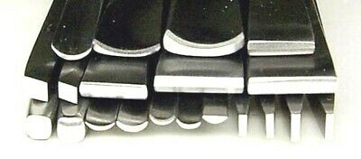 Ramelson Chasing Repousse Tools Set 20pc Liners Planishers Goldsmith Silversmith