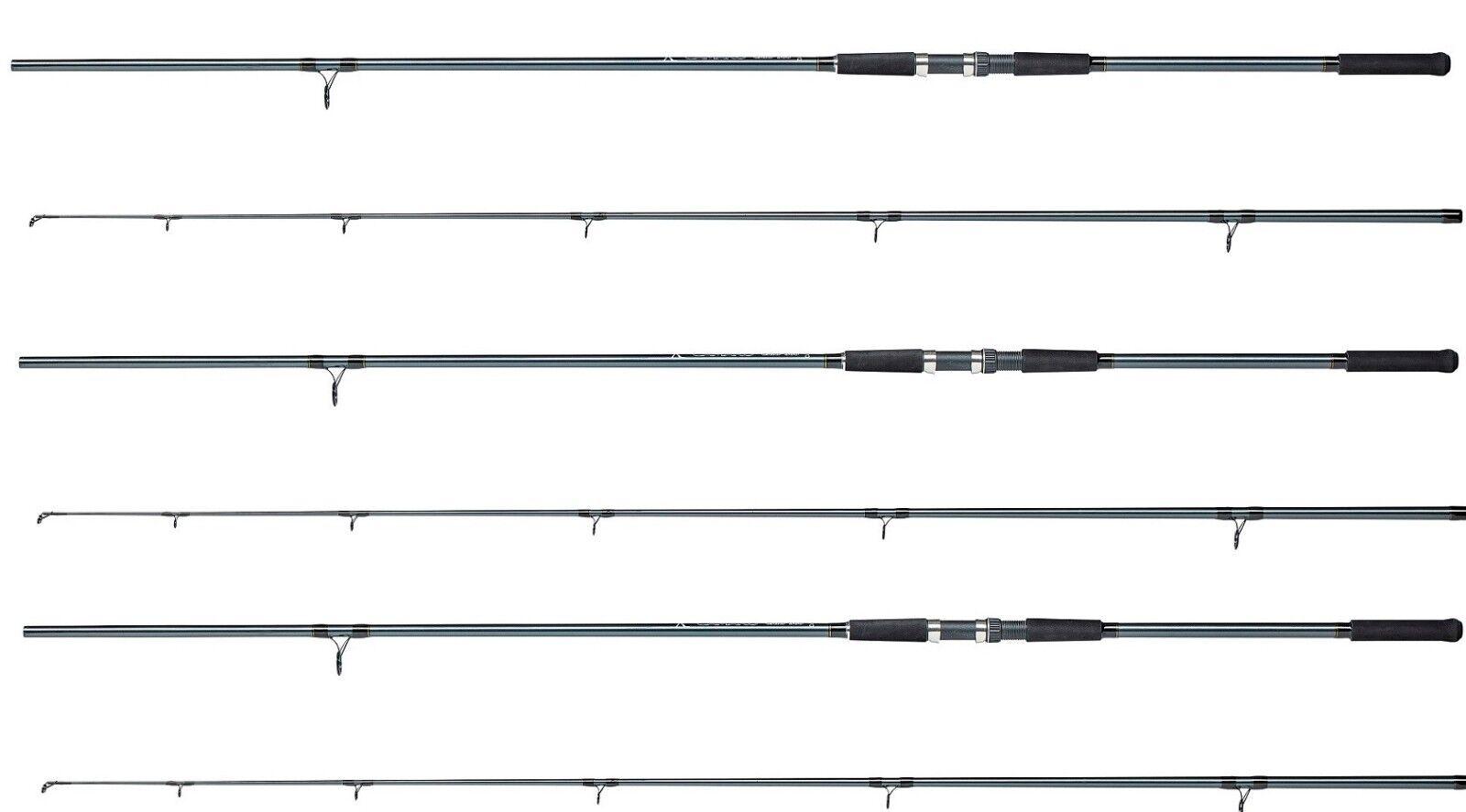 3 X Dam Camaro 12ft 2.5lb 2pc  Carp Rods Fishing