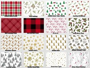 HOLIDAY-Design-Gift-Tissue-Paper-Sheets-15-034-x-20-034-Choose-Print-amp-Pack-Amount