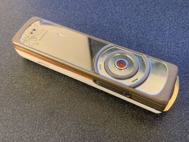Nokia 7380 Amber Unlocked Mobile Phone For Sale Online Ebay