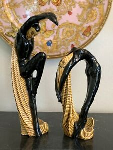 Vintage-Adonis-and-Aphrodite-Deco-Ceramic-Art-Sculptures-by-Betty-Harrington