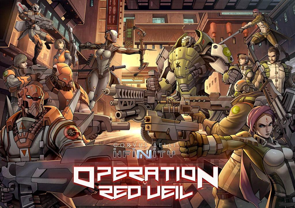 Corvus belli infinity neuf operation operation operation rouge veil 280010 ebc014