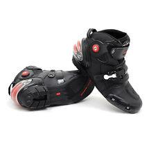 NEW Motorcycle Street Bike Speed Biker Racing Boots US 8 9 9.5 10.5 11 12 13