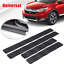 4pcs-Carbon-Fiber-Car-Styling-Scuff-Plate-Door-Sill-Cover-Panel-Protector-Kit thumbnail 3