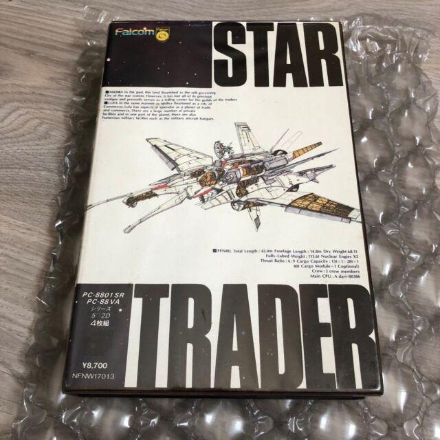 STAR TRADER japan game--ORIGINAL BOX GAME--PC 8801