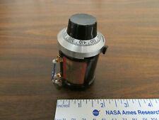 Beckman Helipot Duodial 15 turn potentiometer dial gray grey knob Model RB