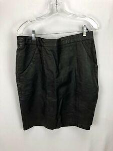 Women-039-s-Black-Leather-Skirt-14