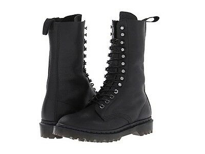 Dr. Martens Men`s Edmund 12 tie Boot BLACK Inuck US 13 EU 47 UK 12 Retail $210