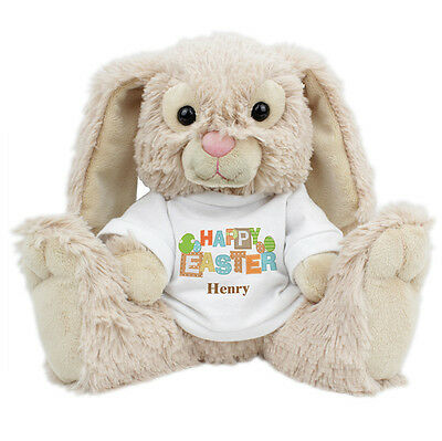 Easter present ideas for babies collection on ebay personalised easter bunny soft toy childrens present babys 1st easter gift idea negle Images