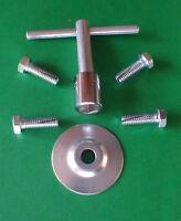 Silverline Sl-7 Hardwood Floor Sander Edger Parts Paper Bolts, Wrench, & Washer