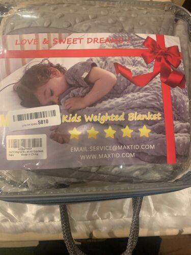Kids Weighted Blanket For Deep Sleep  MAXTID KIDS