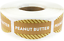 Peanut Butter Grocery Market Stickers 0.75 x 1.375 Inches 500 Labels Total