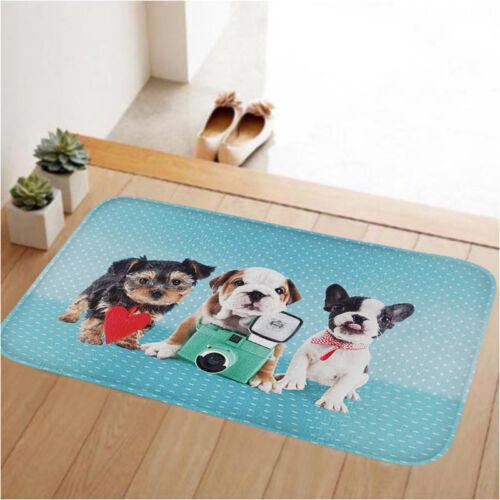 Funny Door Mat Rubber Floor Rug Non-slip Pad Home Indoor Outdoor Doormat Carpet