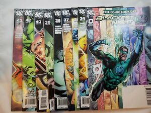 Green-Lantern-Corps-Comics-Prelude-to-Blackest-Night-Great-Condition