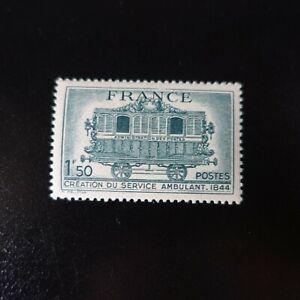 Francia-Francobollo-Centenario-Del-Servizio-Postale-N-609-Neuf-Luxe-Mnh