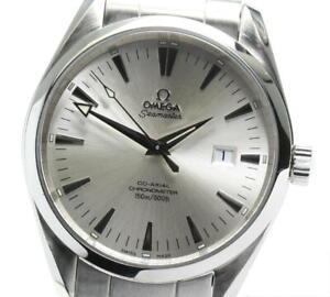 OMEGA Seamaster Aqua Terra Coaxial 2502.30 Silver Dial Automatic Men's_574346