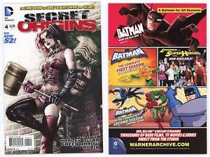Secret Origins #4 Harley Quinn