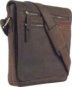 UNICORN-Sacchetto-Cuoio-Genuino-iPad-Tablet-accessori-Borsa-Marrone-4G