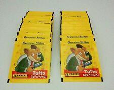 Figurine Panini 50 bustine TUTTO GERONIMO STILTON Sticker packets tuten