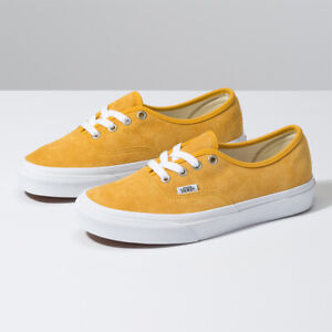 Vans Pig Suede Authentic Skate Sneakers Low Top Yellow VN0A2Z5IV77 ...