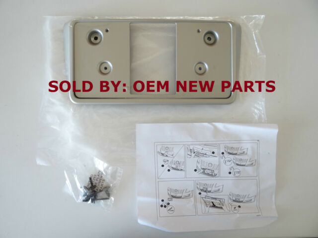 NEW GM Cadillac XTS OEM Front License Plate  ADDICTION RED 23473506