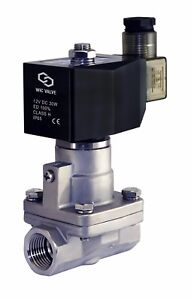 Stainless-Steel-High-Pressure-Electric-Steam-Solenoid-Valve-NC-1-2-034-Inch-12V-DC