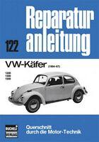 VW Käfer 1964-1967 Reparaturanleitung Reparatur-Handbuch Reparaturbuch Wartung