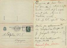 Biglietto postale PER VENDITA PALAZZINA A TRASTEVERE ANNO 1935 (S-L 262)