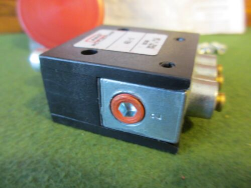 Valve Assembly Red Button ARO Fluid Power 461-2