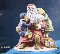 Ceramic Bisque Talking To Santa Provincial Mold 855 U-paint Ready To Paint