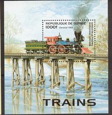 Guinea 1996 Trains/Rail/Transport/Steam 1v m/s (b10137)
