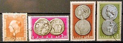 391 702 4 Einzelm... 1195 In 704 Treu Briefmarken Griechenland Gestempelt Minr QualitäT üBerlegene 703