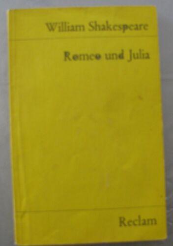 1 von 1 - Reclam*William Shakespeare*Romeo und Julia