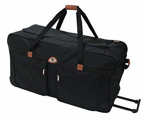 Noir 2 Voyage A Souple Roulettes France Bag Cm Sac Roues De 56 MjUzLpqVSG