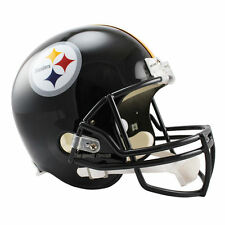 PITTSBURGH STEELERS RIDDELL VSR4 NFL FULL SIZE REPLICA FOOTBALL HELMET