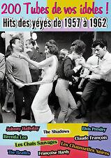 Coffret longbox 8 CD : 200 Tubes de vos idoles ! - Hits des yéyés de 1957 à 1962