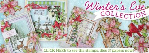 Heartfelt Creations Window Frame Cling Stamp Set HCPC-3794