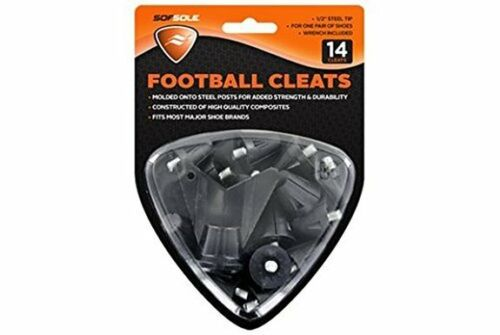 SofSole Nylon Turf Cleat Multipurpose 1 Pkg of 14 Cleats Wrench Included