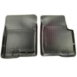 Husky-Liners-33301-1st-Seat-Floor-Mats-Black-For-97-04-Ford-F-150-amp-97-98-F-250