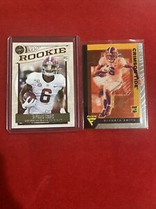 2021 panini chronicles Devonta Smith Lot of 2 Rookie Cards Legacy & FLUX  Eagles
