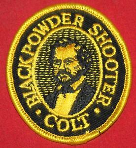 COLT-FIREARMS-FACTORY-Sam-Colt-Blackpowder-Patch-1980
