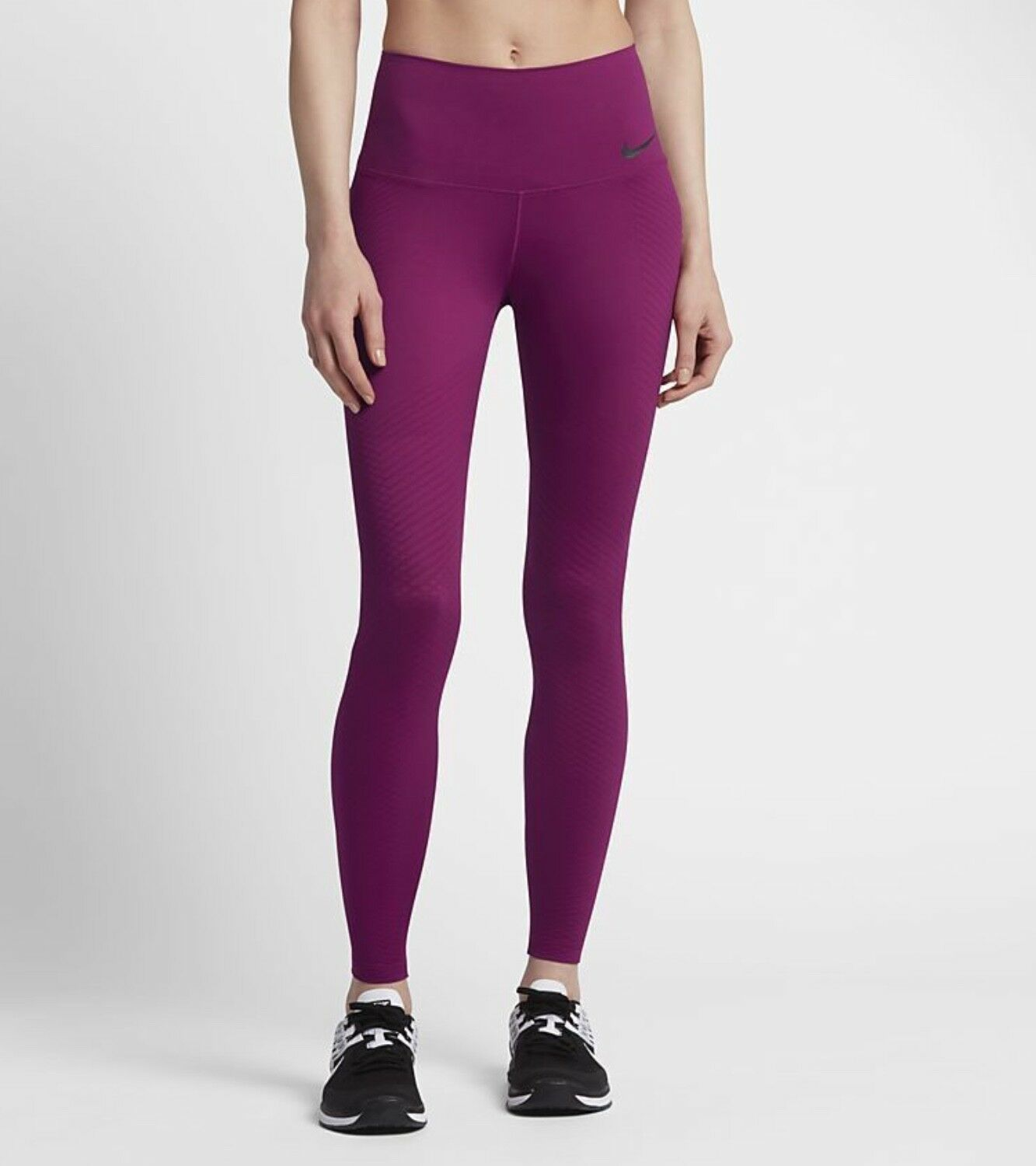 NIKE ZONAL STRENGTH TRAINING RUNNING TIGHTS 833708-666  RRP  True Berry