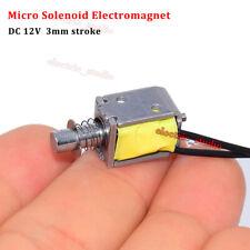 Dc 12v Push Pull Through Type Micro Solenoid Electromagnet Mini Electric Magnet