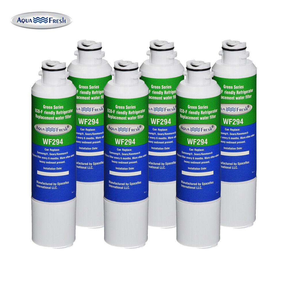 Aqua Fresh Water Filter - Fits Samsung RF28HFEDTSR AA Refrigerators (6pk)