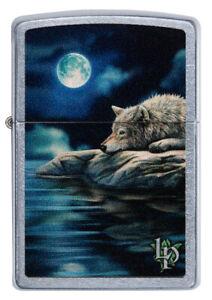 ZIPPO-BENZINA-ACCENDINO-Lisa Parker-Wolf-luna piena-See - 60004493
