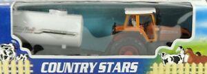 8154-1-Traktor-orange-mit-Fasswagen