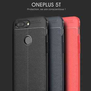 separation shoes 822ee 7e651 Details about For OnePlus 5T Luxury Slim Carbon Fiber Shockproof Soft TPU  Case Back Cover UKKe